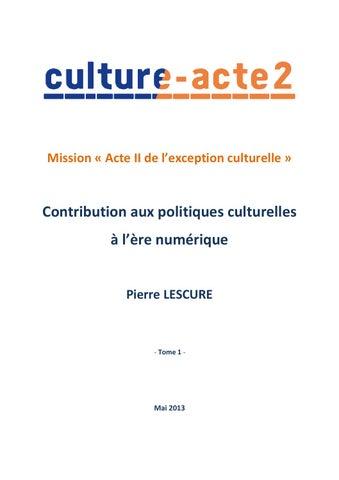 83fbb7413afdad Rapport lescure 498 by Aurelien Guillois - issuu