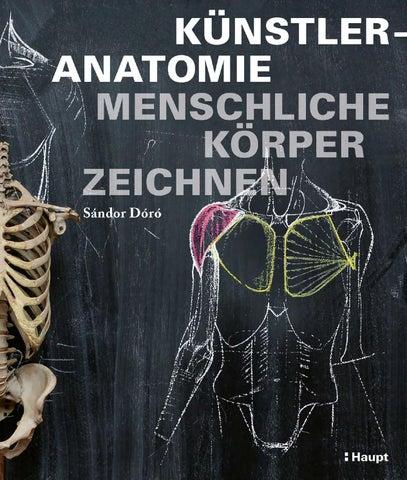 Dóró, Künstleranatomie by Haupt Verlag - issuu