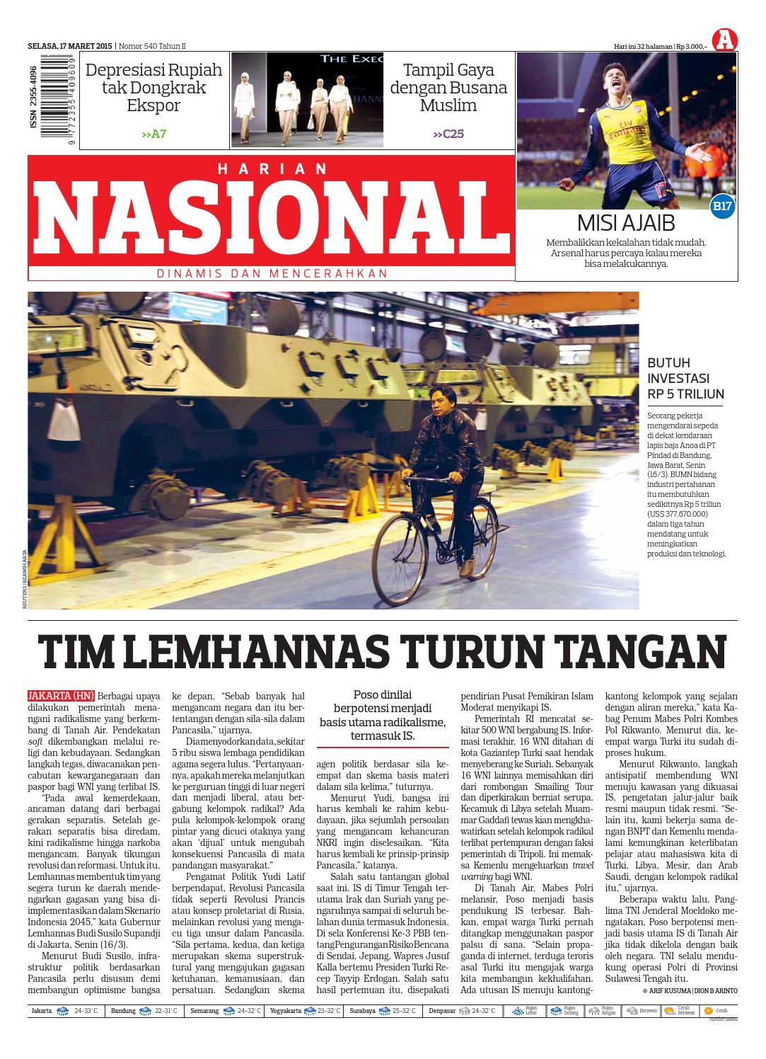 Harian Nasional By Issuu Produk Ukm Bumn Sulam Usus Pmk