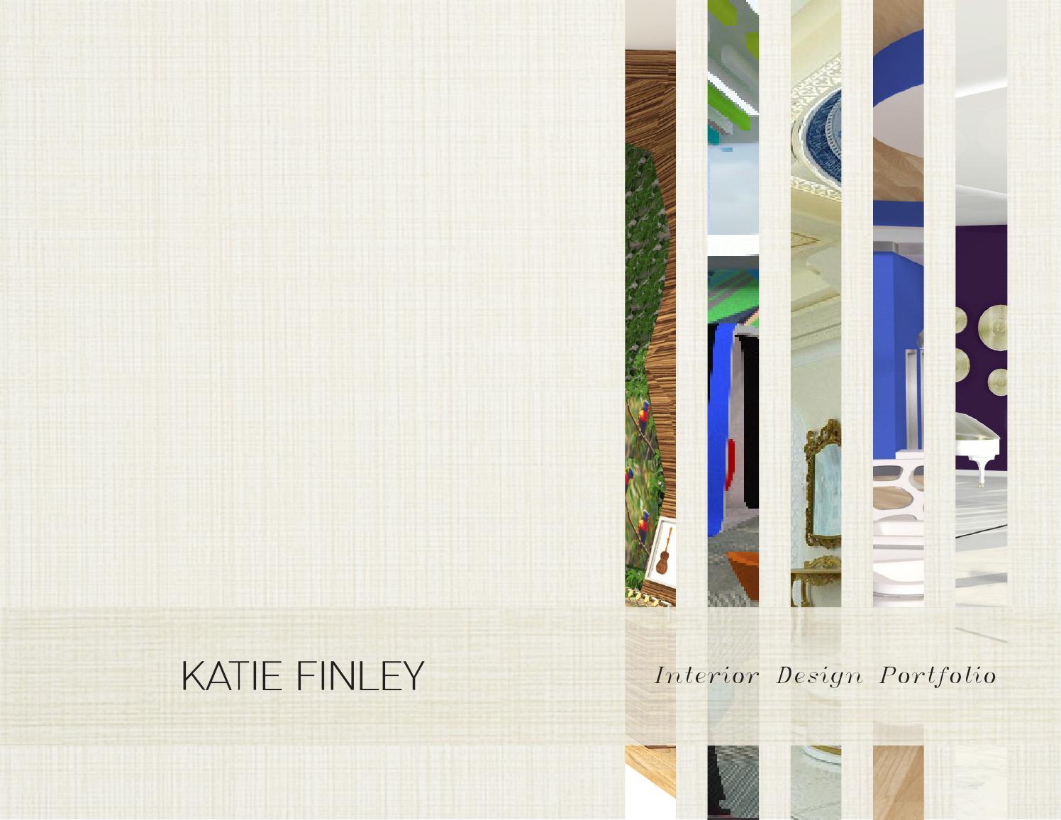 Interior design portfolio katie finley by katie finley issuu for New york school of interior design mascot