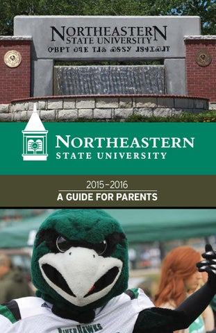Nsu Tahlequah Campus Map.2015 Northeastern State University Parent Guide By Universityparent
