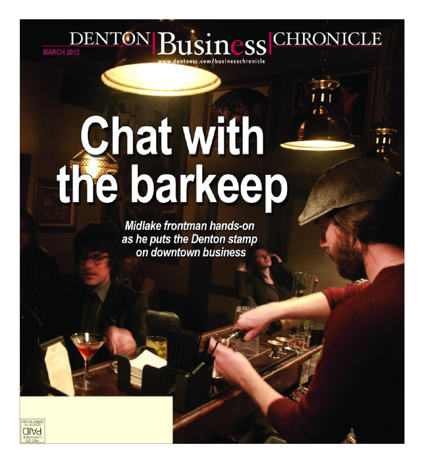 March Denton Business Chronicle 2015 by Larry McBride issuu