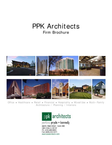 Ppk Architects Firm Brochure By Ppk Architects Issuu
