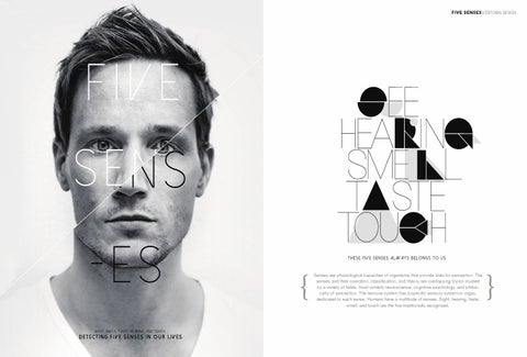 Five Senses Introduction Editorial Design By Harry Kim Issuu