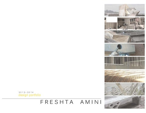 Freshta Amini | UC Berkeley Undergraduate Architecture Portfolio ...
