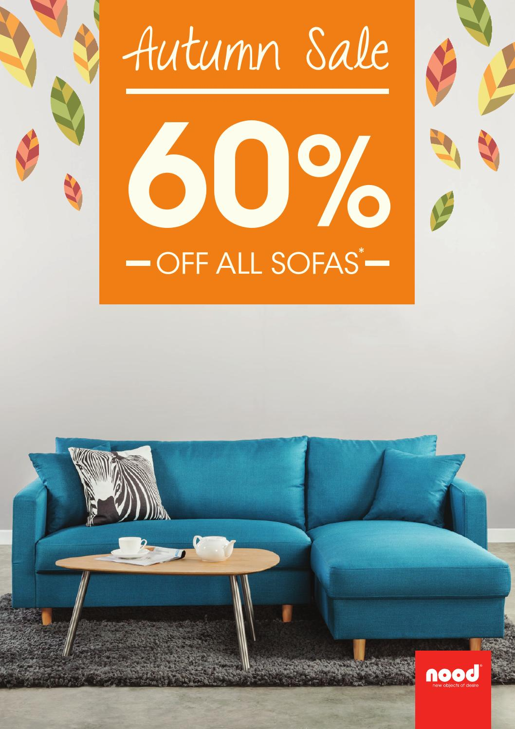 Nood Autumn Sale Sofa Brochure By Nood Issuu