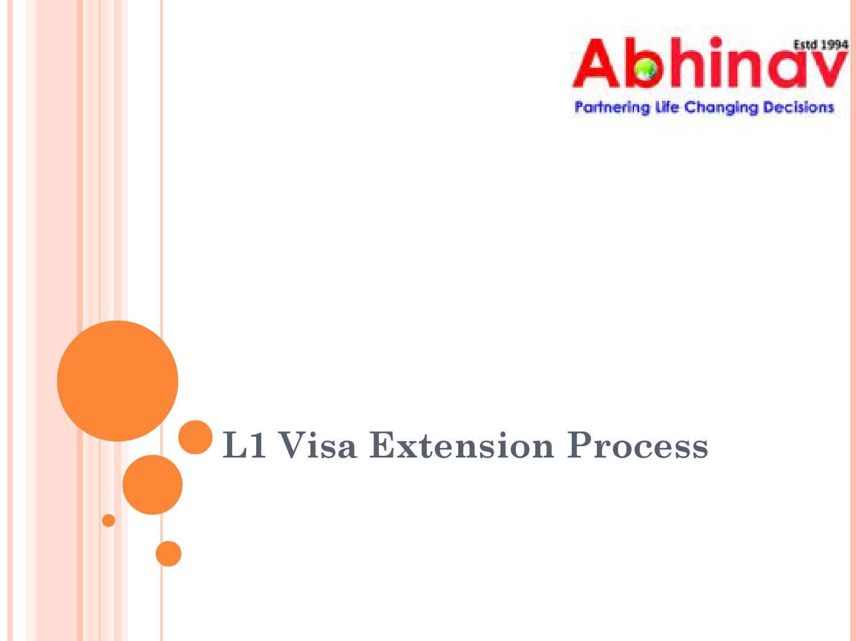 L1 visa extension process by Krishan - issuu