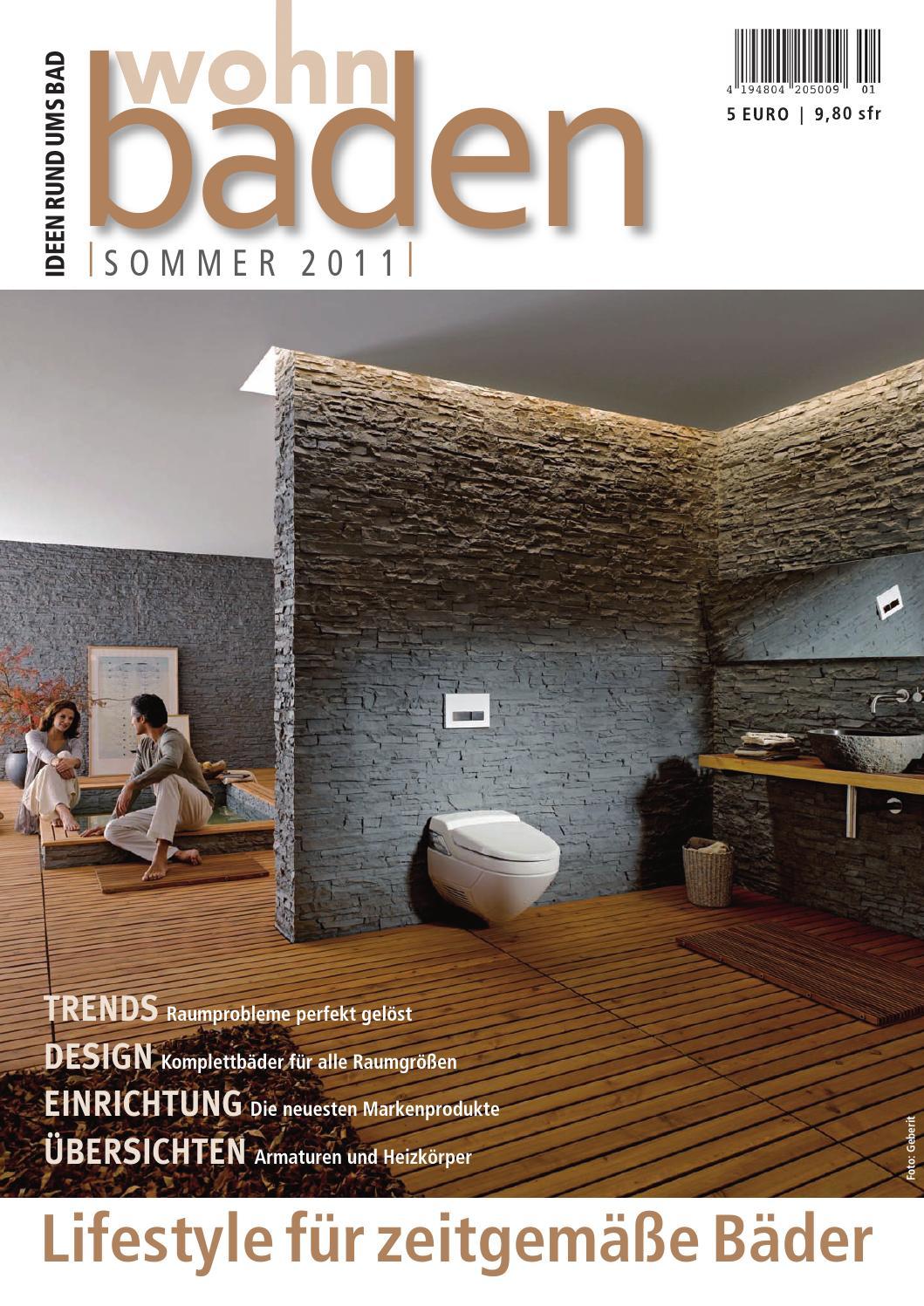 Wohnbaden 1 2011 By Krammer Neue Medien - Issuu Exklusive Badkeramik Und Badarmaturen Mit Hochstem Designanspruch