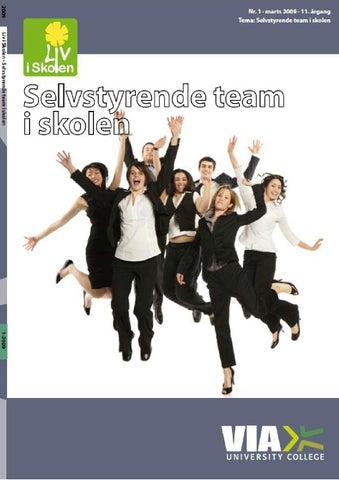 selvstyrende team ledelse og organisation