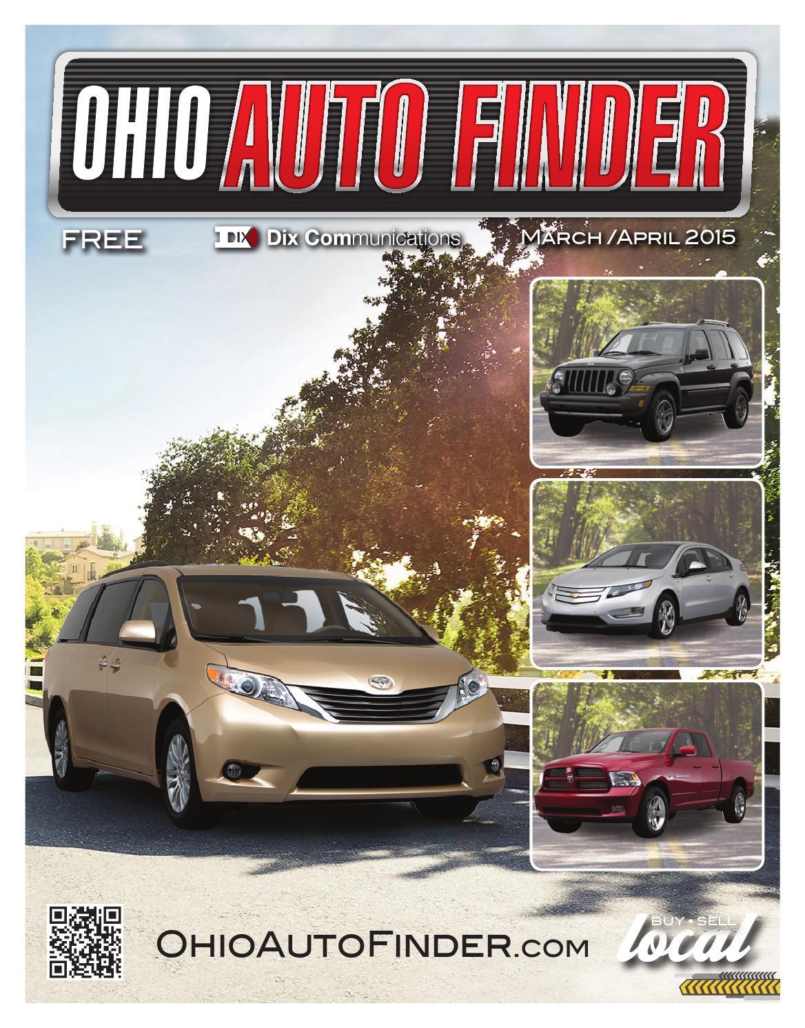 Ohio Auto Finder - Mar/Apr 2015 by GateHouse Media NEO - issuu