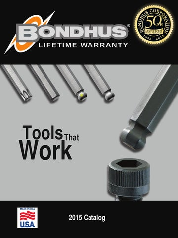 Tagged and Barcoded Short Arm Bondhus 16216 1//2 Hex Tip Key L-Wrench with BriteGuard Finish