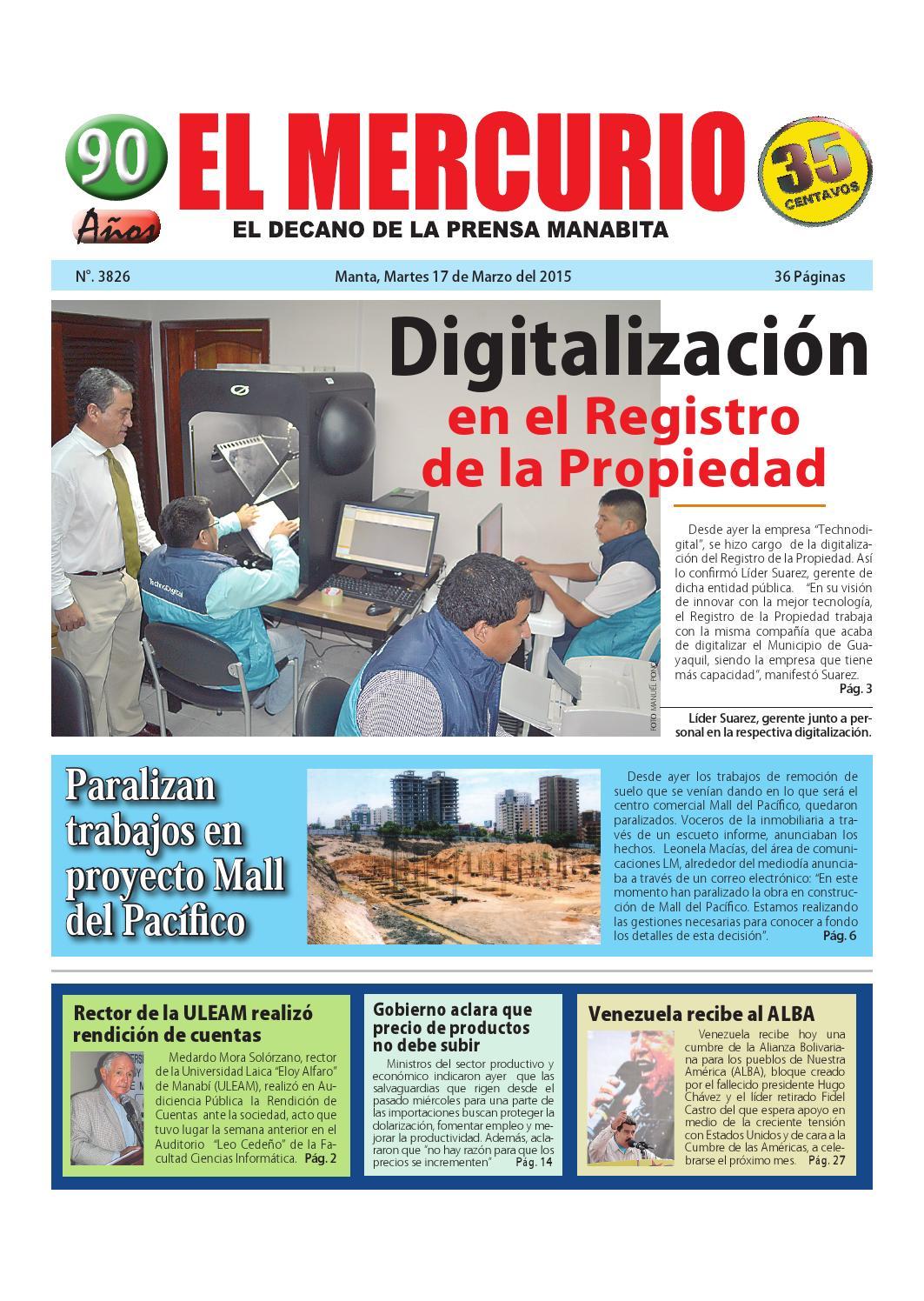 Martes 17 de marzo de 2015 by Diario El mercurio - issuu