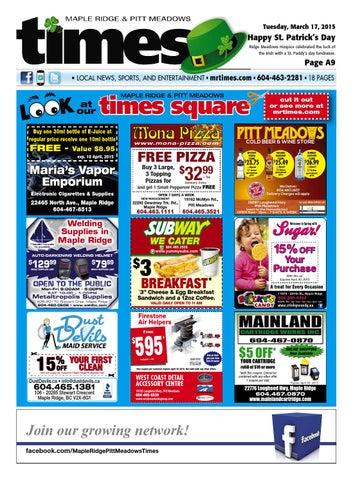 Maple Ridge Pitt Meadows Times March 17 2015 by Maple Ridge