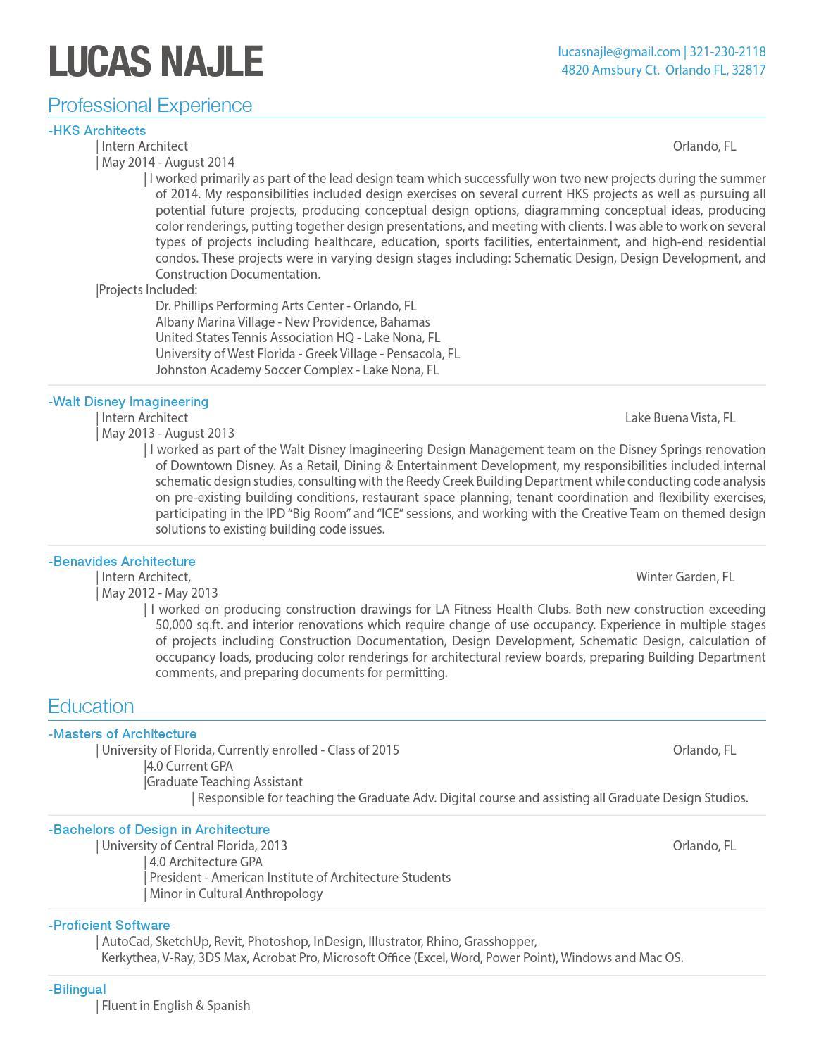 lucas najle resume by lucas najle issuu