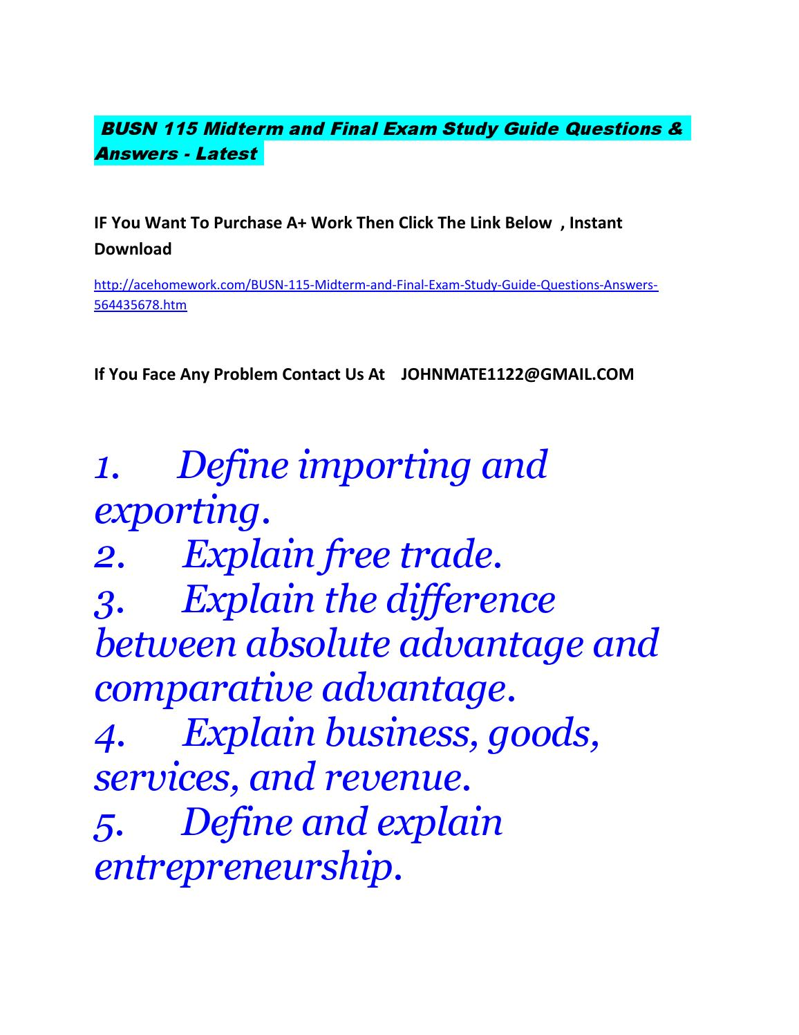 explain the difference between comparative and absolute advantage essay E72 define and distinguish between absolute and comparative advantage and   uncedu/depts/econ/byrns_web/economicae/essays/abs_comp_advhtm.