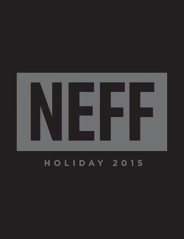 b1a0420d009 Neff Holiday 2015 Domestic Catalog by Neff Headwear - issuu