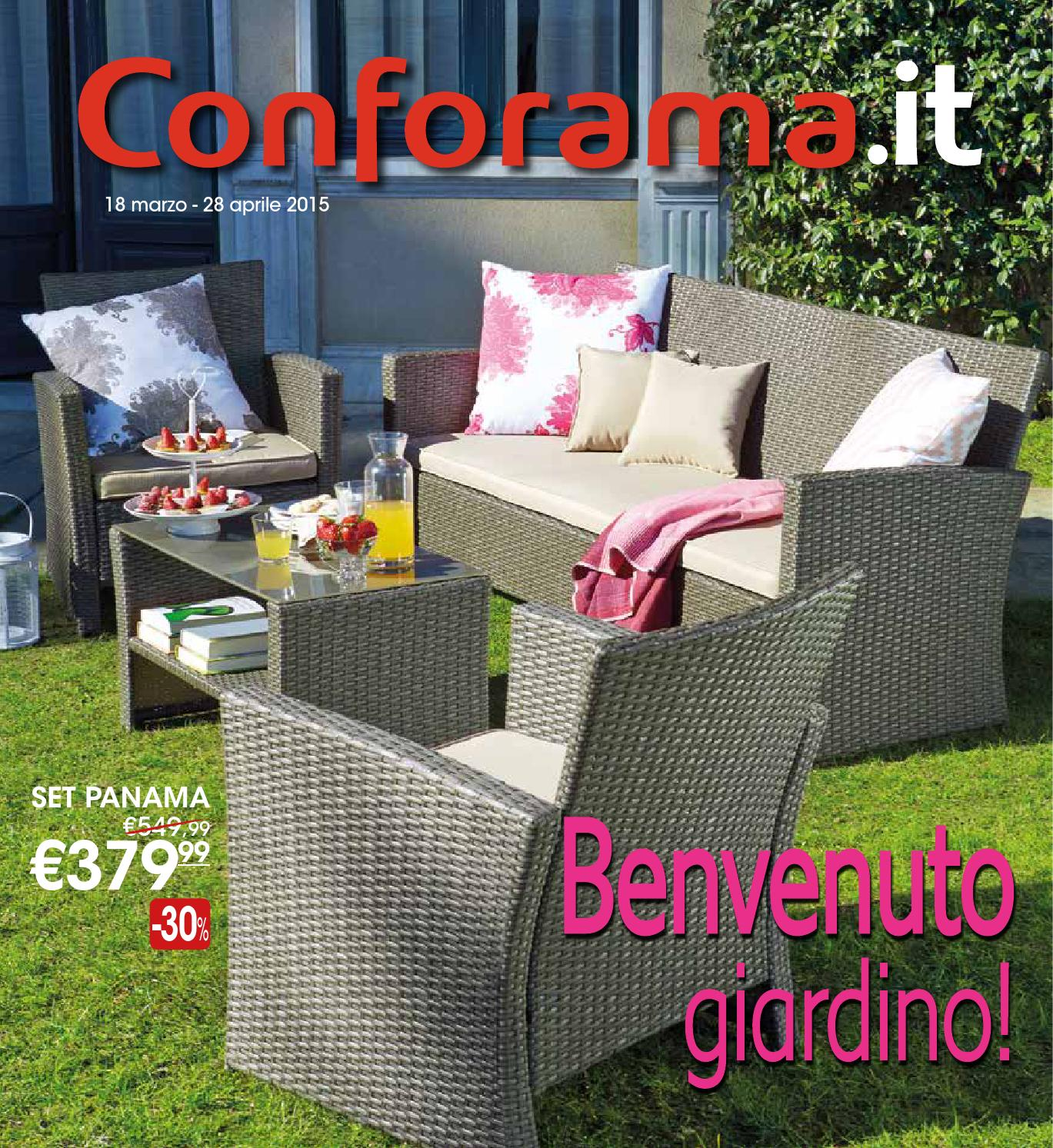 Catalogo giardino conforama 2015 by mobilpro issuu for Catalogo giardino