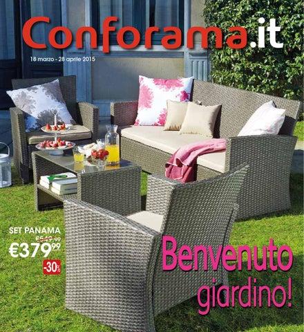 Conforama Tavoli Da Giardino.Catalogo Giardino Conforama 2015 By Mobilpro Issuu
