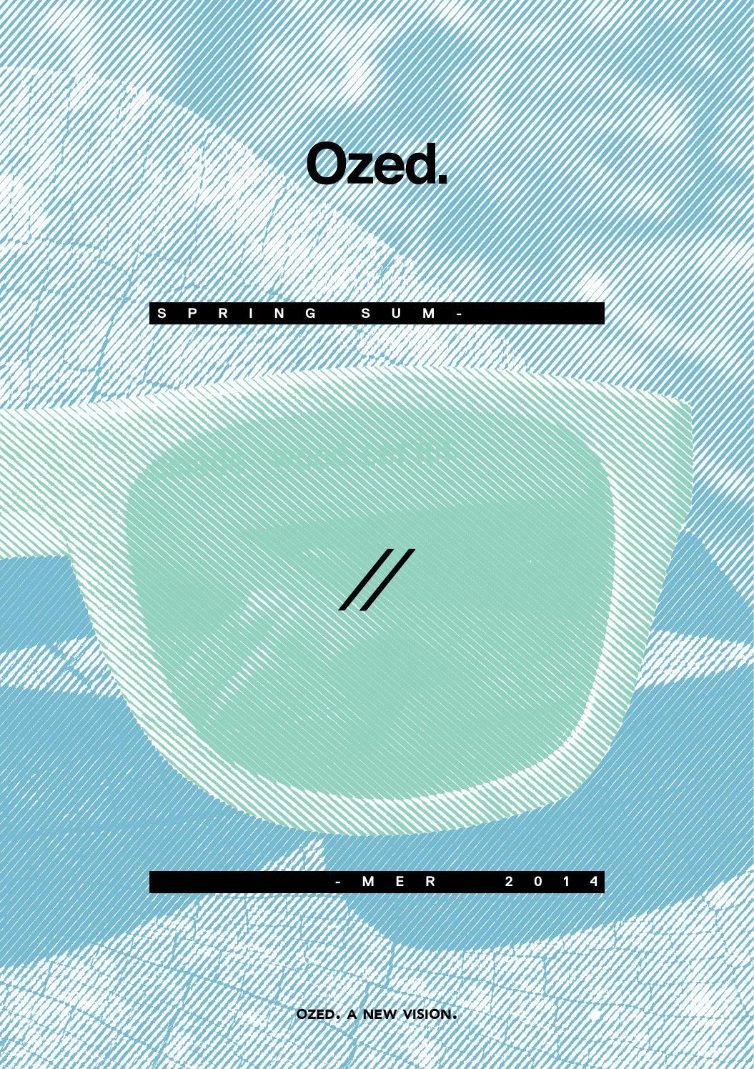 Ozed Summer 14 collection by OZED Eyewear Company Eyewear - issuu b4d16c7dc52a