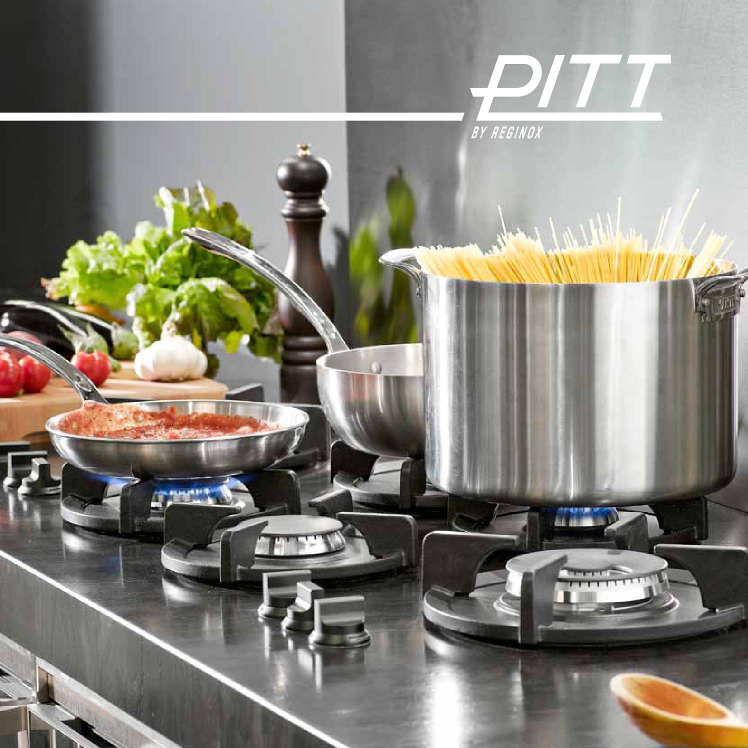 Brochure PITT by Reginox | Version: Germany by PITT cooking - issuu