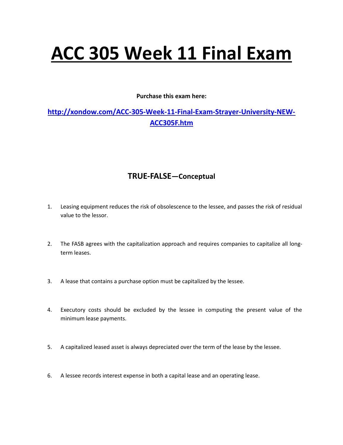 strayer university bleg 500 final exam