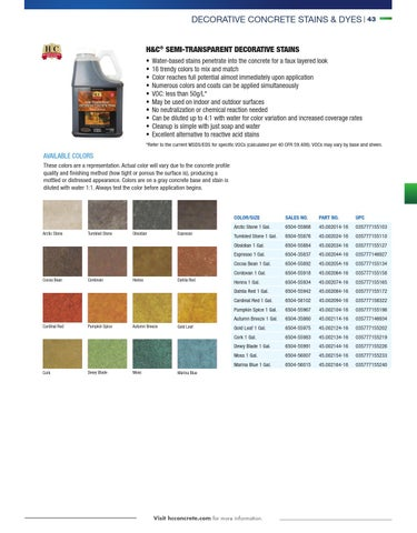Sherwin Williams H Amp C Concrete Stain Tyres2c