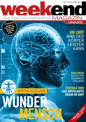 Weekend Magazin Vorarlberg 2015 KW 12 by Weekend Magazin Vorarlberg ...