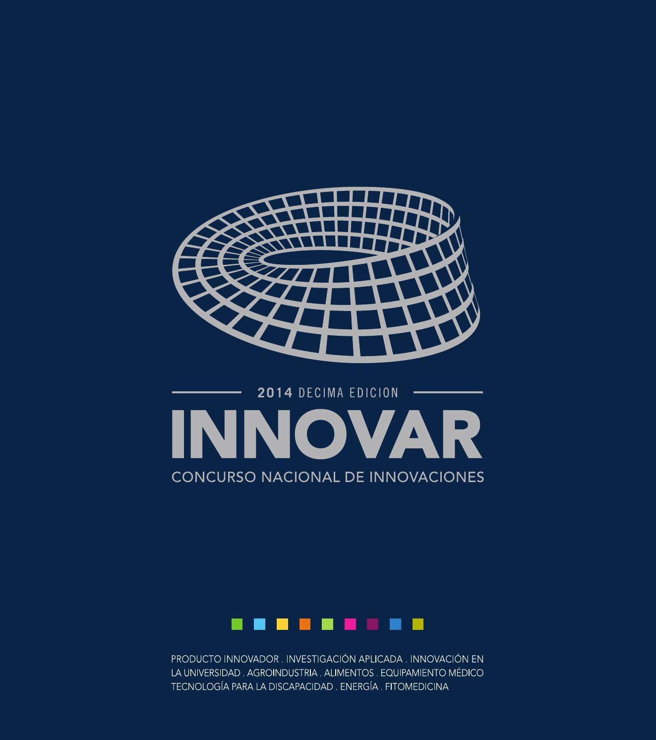 Catálogo INNOVAR 2014 by Concurso INNOVAR - issuu