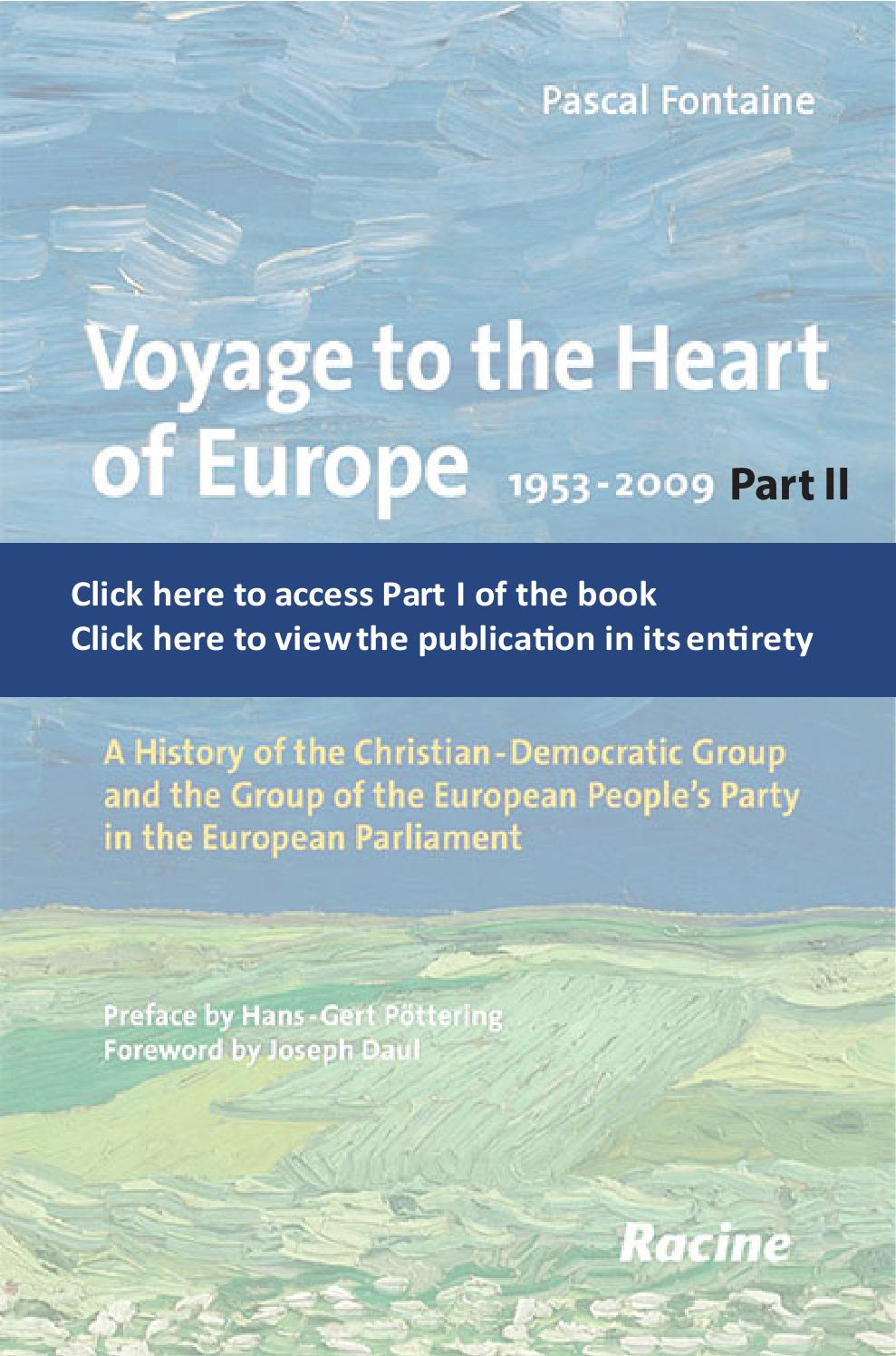 Voyage to the Heart of Europe: Part Two by EPP Group in the European  Parliament - issuu