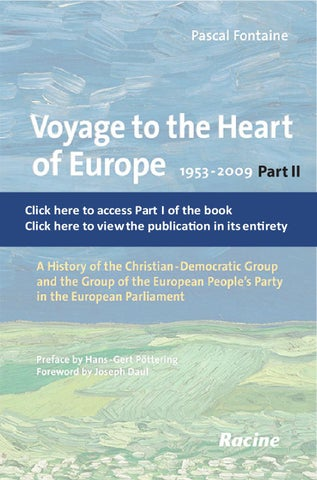 Voyage To The Heart Of Europe Part Two By Epp Group In The European