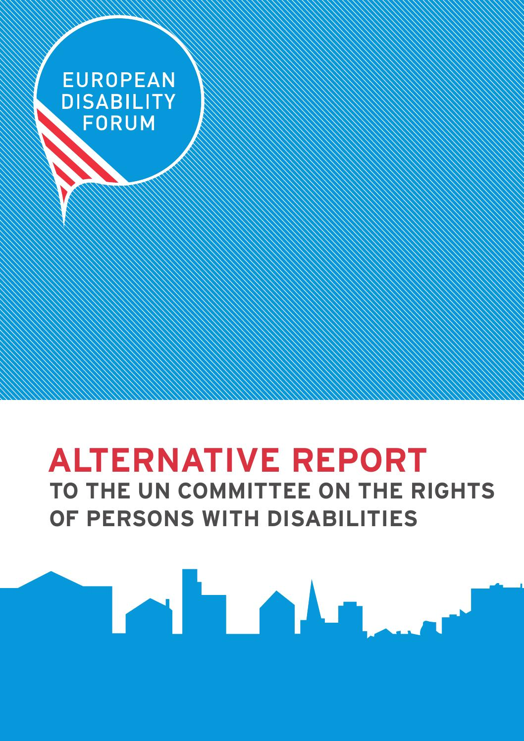 edf alternative report on the implementation of the un