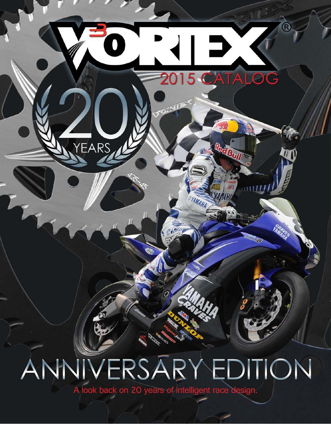 Vortex CK6112 Chain and Sprocket Kit Vortex Racing