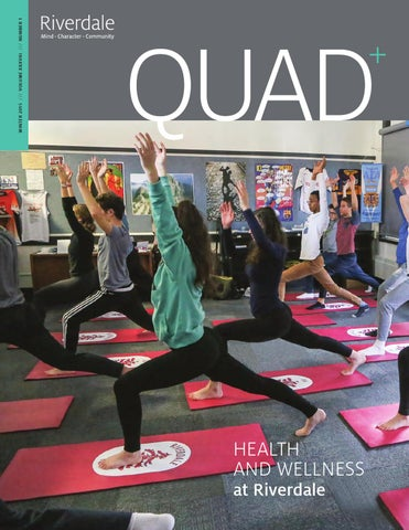 Quad Winter 2015 by Riverdale Country School - issuu