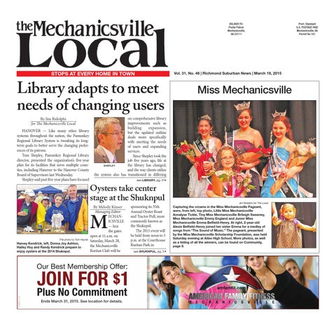 03 18 2015 By The Mechanicsville Local