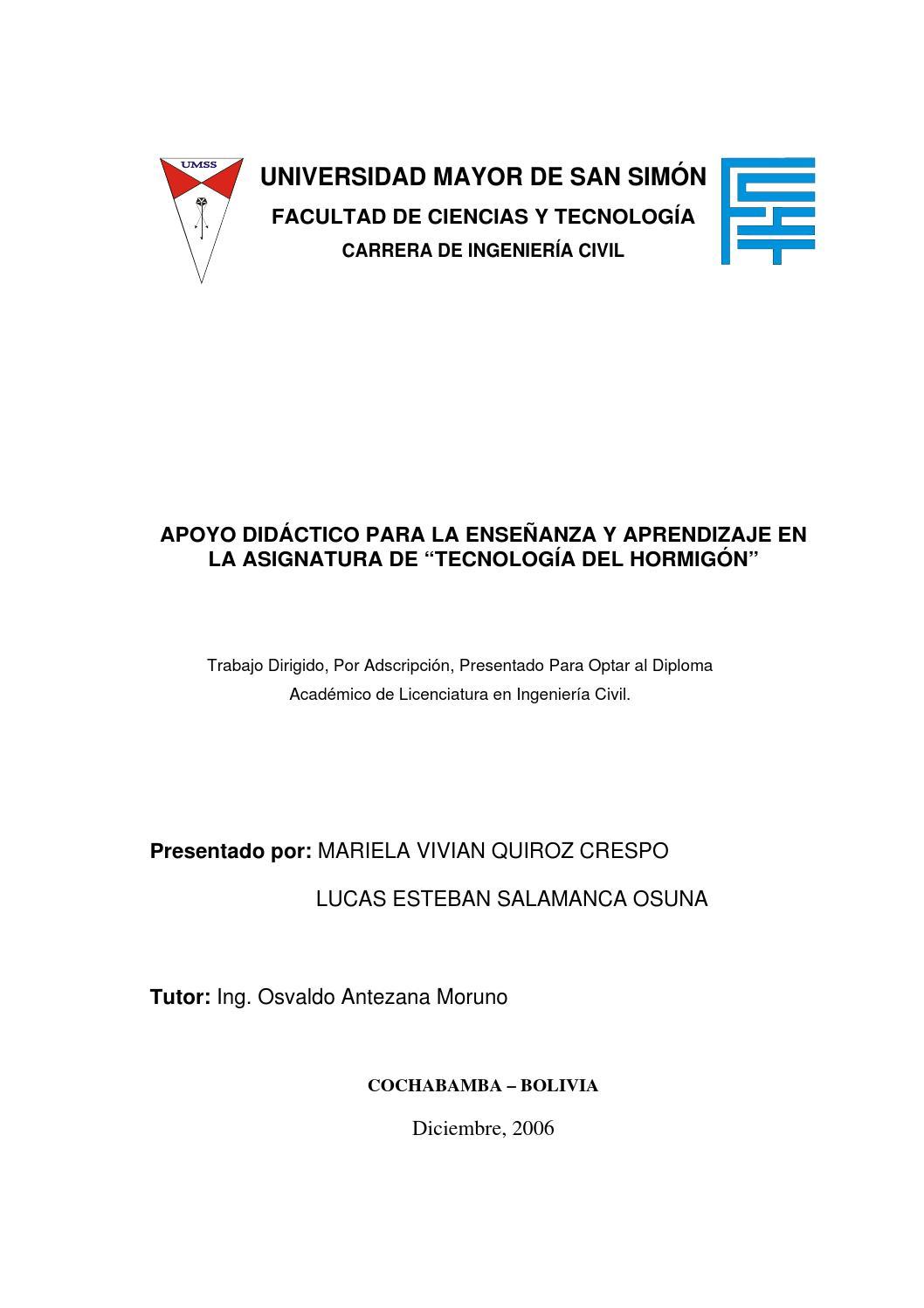 Libro básico sobre tecnología del concreto by Frank Gonzalez - issuu