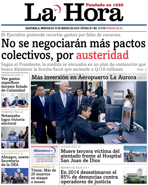 Diario La Hora 18-03-2015 by La Hora - issuu e7c45d2961db6