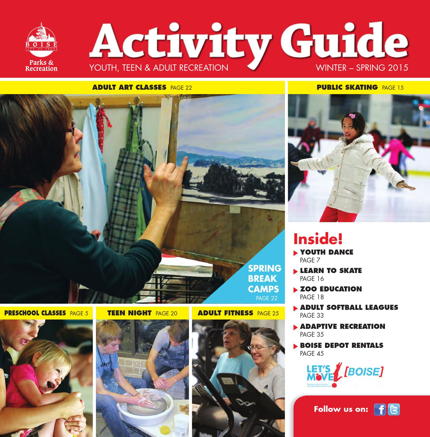 Boise Parks   Recreation Winter-Spring 2015 Activity Guide by Boise Parks  and Recreation - issuu 8614eca31