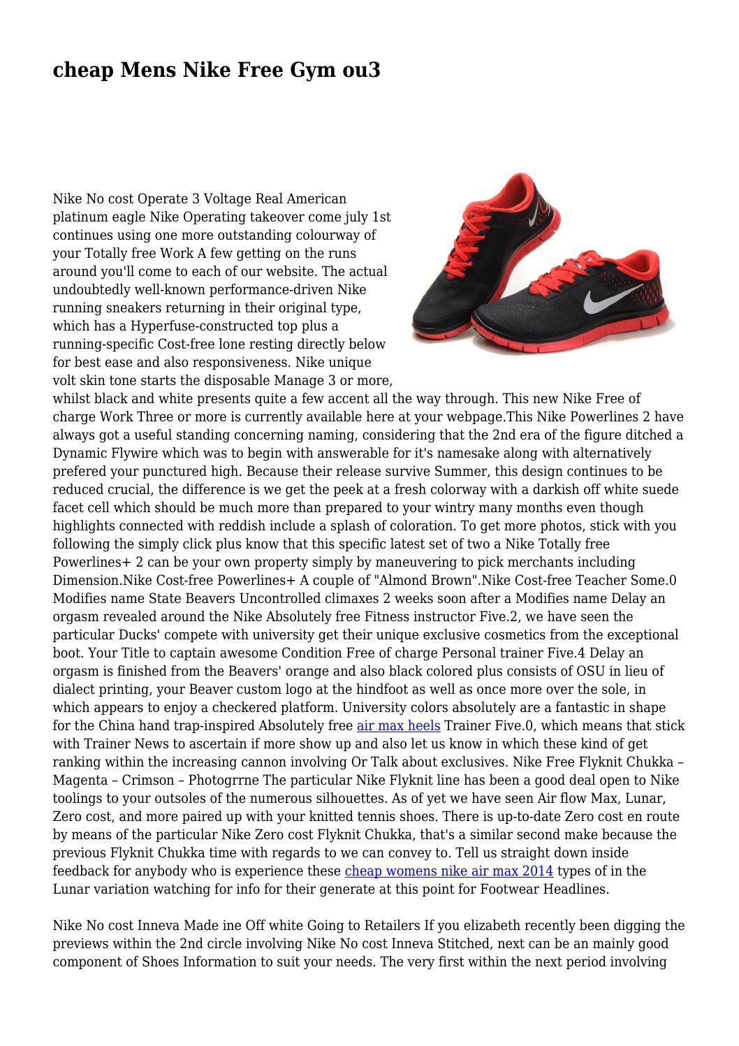 detailed look 265a2 85262 cheap Mens Nike Free Gym ou3 by gabbyglut9758 - issuu
