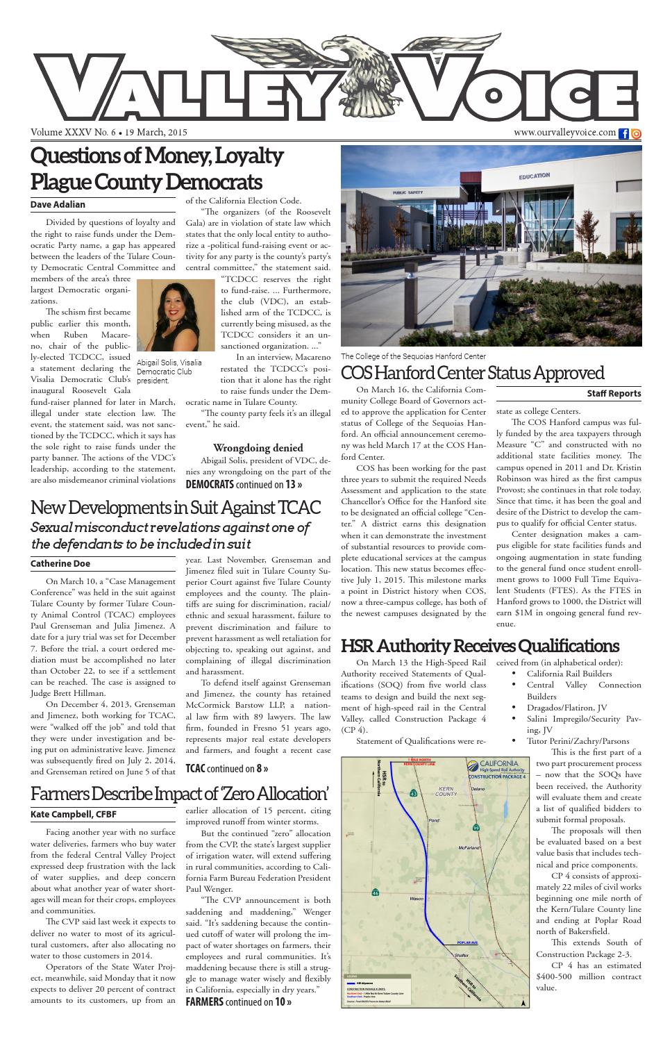 Valley Voice Issue 41 19 March 2015 By Valley Voice Issuu