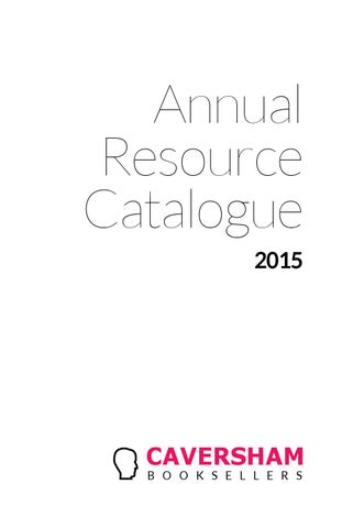 Caversham annual resource catalogue 2015 by caversham booksellers page 1 fandeluxe Image collections