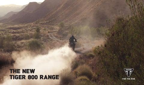 2015 Triumph Tiger 800 Brochure By Mototainment Ducati Triumph New