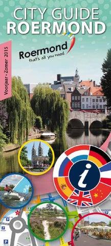 City Guide Roermond voorjaar 2015 by City Guide Roermond issuu