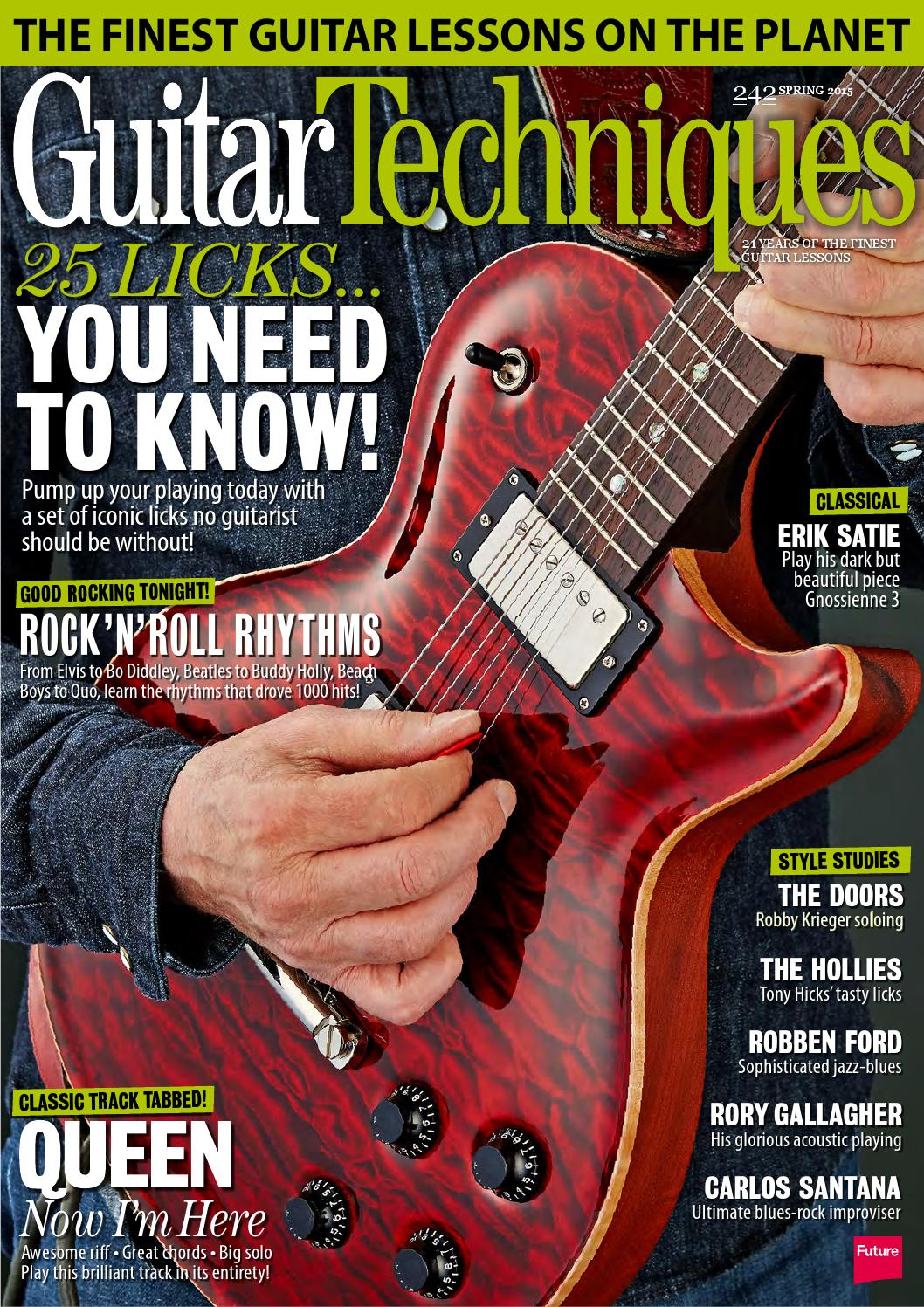 Guitar Techniques 242 Sampler By Future Plc Issuu
