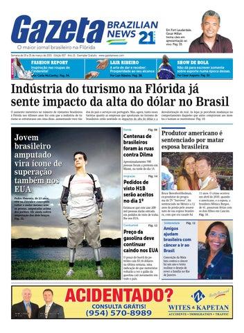 8c4811837 Edição 927 - De 19 a 25 de Março de 2015 by Gazeta Brazilian News ...