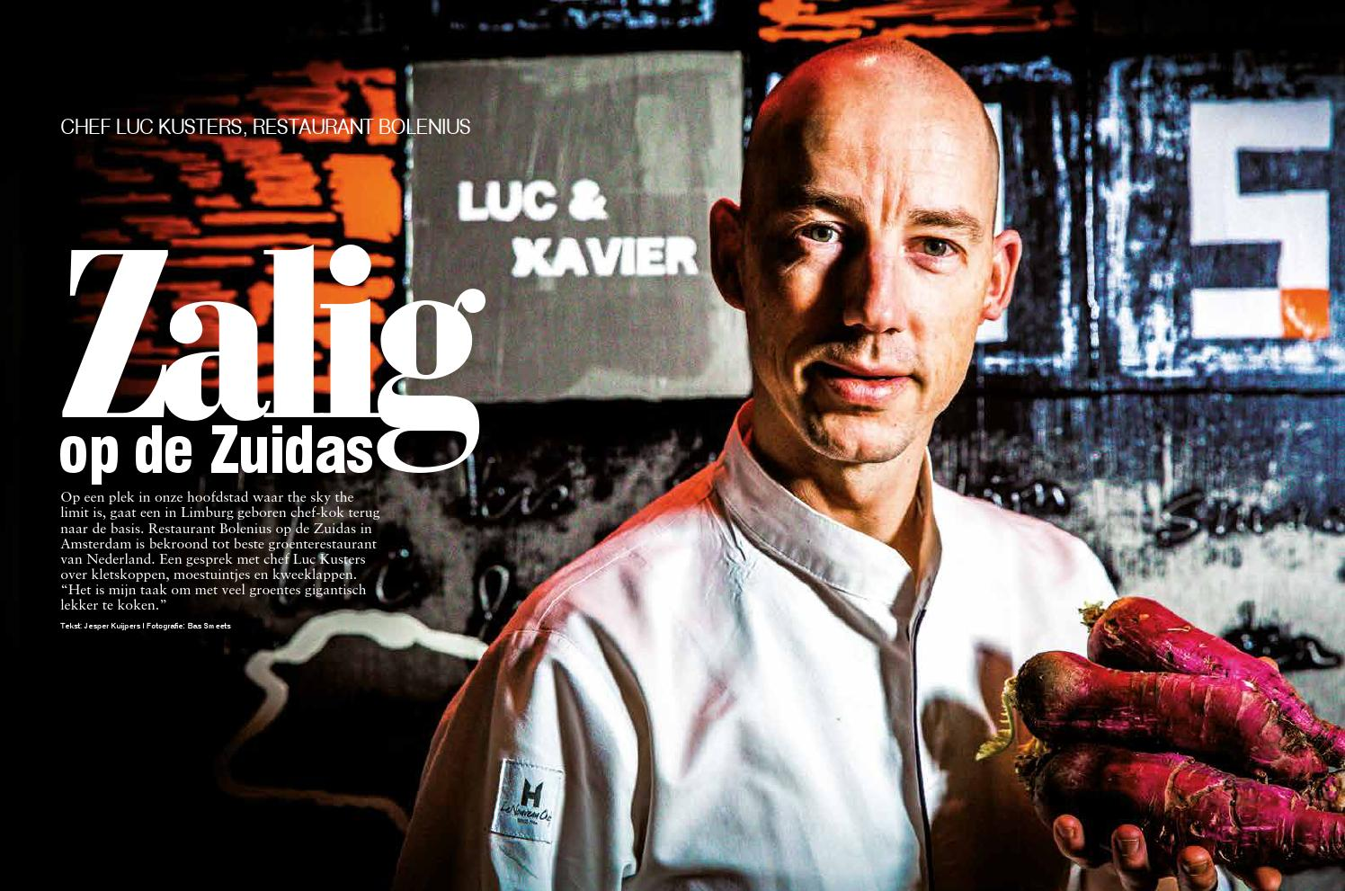 Interview Chef Luc Kusters By Jesper Kuijpers Issuu