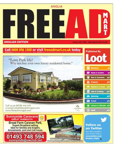 52425cedfc FreeAD Mart Anglia 10th March 2015 by Loot - issuu