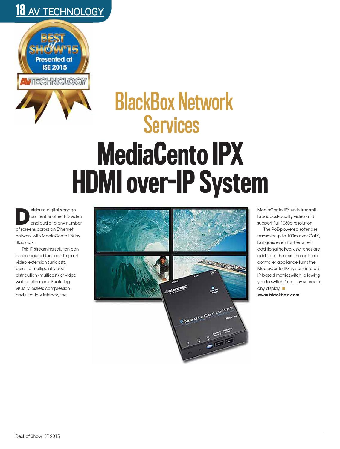 ISE 2015 Best of Show digital edition by Future PLC - issuu