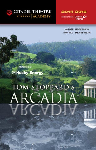 Citadel playbill - Arcadia by Suggitt Publishers - issuu