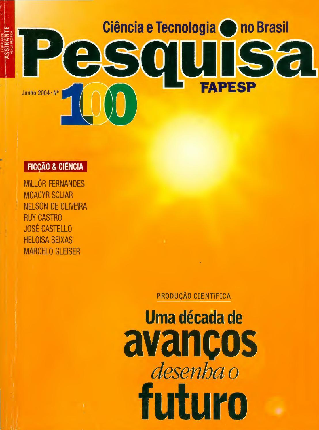 Uma década de avanços desenha o futuro by Pesquisa Fapesp - issuu e084141e9b391