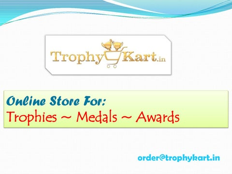 Buy Trophies Awards Medals Online by trophykart - issuu